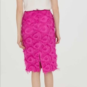 H&M PINK PENCIL SKIRT